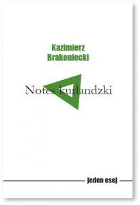 Notes kurlandzki Kazimierz Brakoniecki